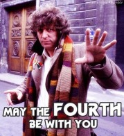 Have a Jelly Baby with Tom Baker's Doctor on the 4th!