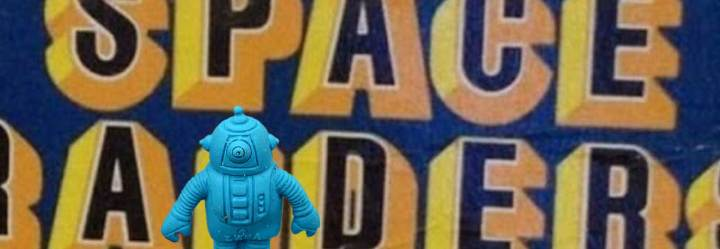 Diener Space Raiders: Classic Robo-Alien & SpaceshipErasers