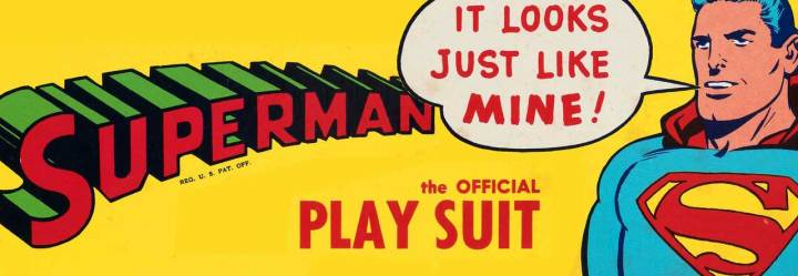 The Superman Official Play Suit!
