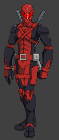 An android body, which houses the consciousness of 1961 R0. Having mastered Astral Projection, conquering Time and Space were the next step. In the year 2199 he became the Immortal Ranger Zero.