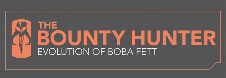 The Bounty Hunter: Evolution of Boba Fett [Infographic]