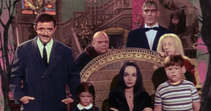 Halloween with the New AddamsFamily