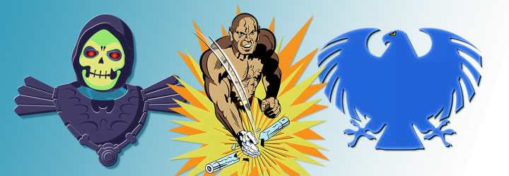 Latest Designs: Skeletor, Blue Falcon & Dr.Steel