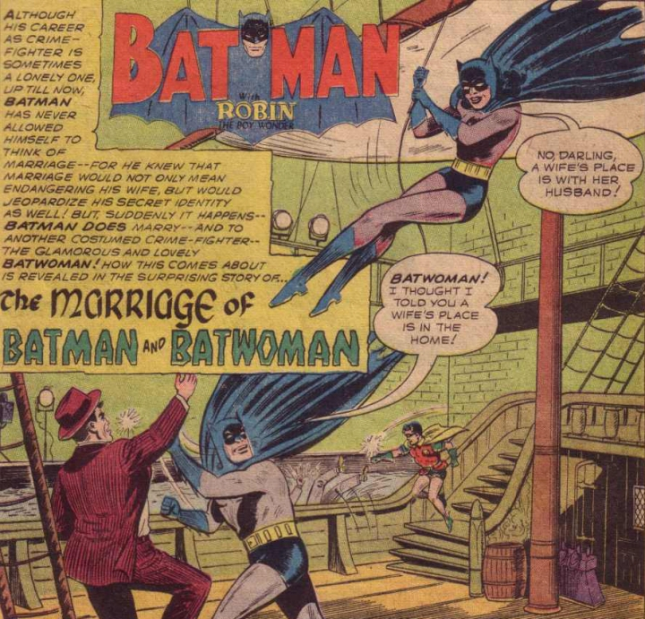 🧬 Batman and Batwoman's Marriage Was a Real Inconvenience forRobin
