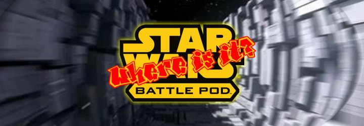 The Star Wars Battle Pod, Where is it Today?