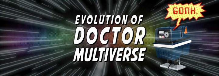 The Evolution of the Doctor Multiverse Mascot