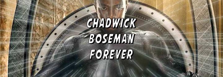 RIP King T'challa, Chadwick BosemanForever
